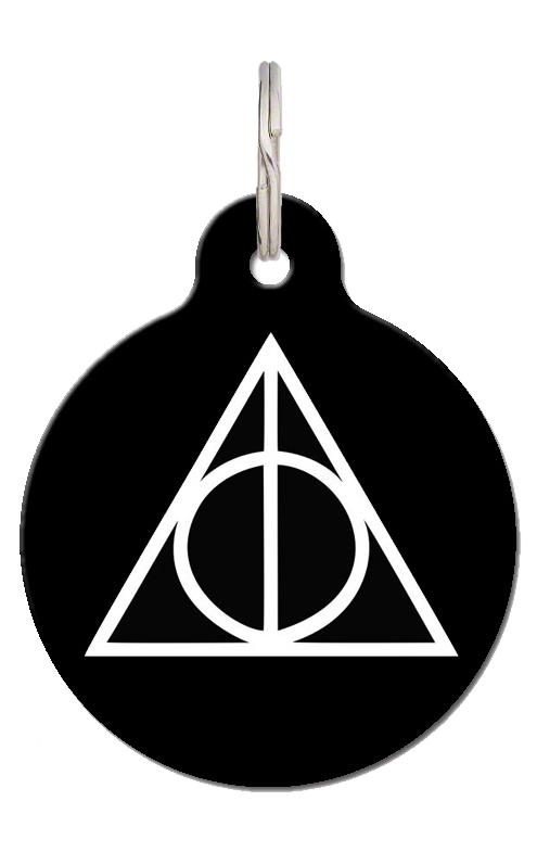 Deathly Hallows Pet ID Tag