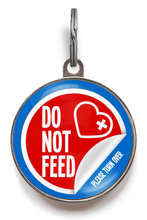 Do Not Feed ID Tag