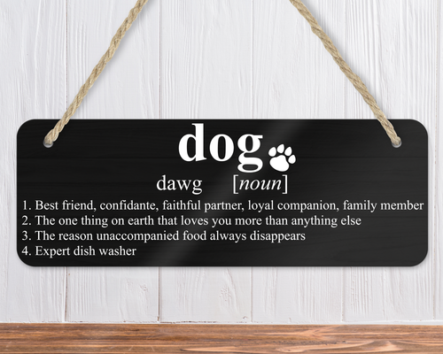 Definition of Dog Sign