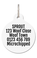 Baggies Football Dog ID Tag