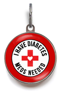 Diabetes Dog Tag