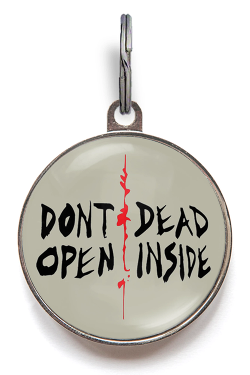Don't Open, Dead Inside Dog Tag