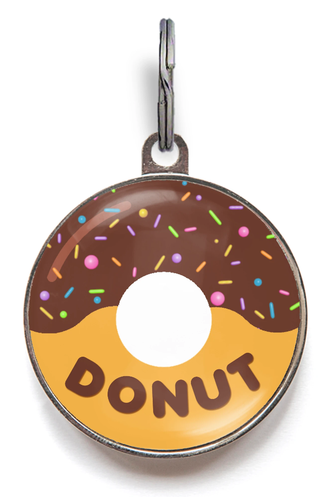 Donut Dog Tag