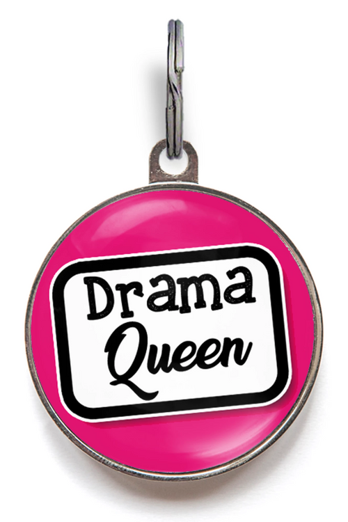 Drama Queen Pet Tag