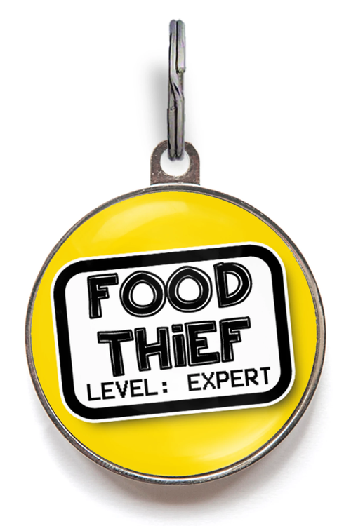 Food Thief Dog Tag
