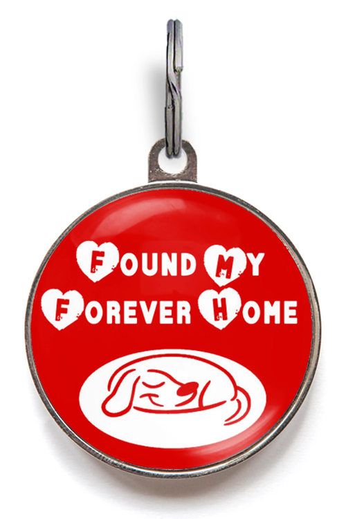 Forever Home Dog ID Tag