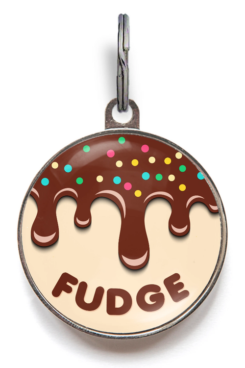 Fudge Dog ID Tag