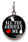 All The Ghouls Love Me Pet Tag