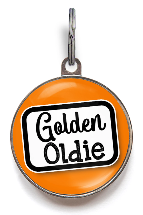 Golden Oldie Pet Tag