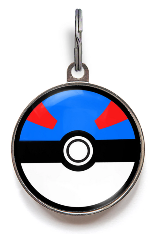 Great Ball Pokemon Pet Tag