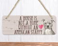 American Staffy Sign