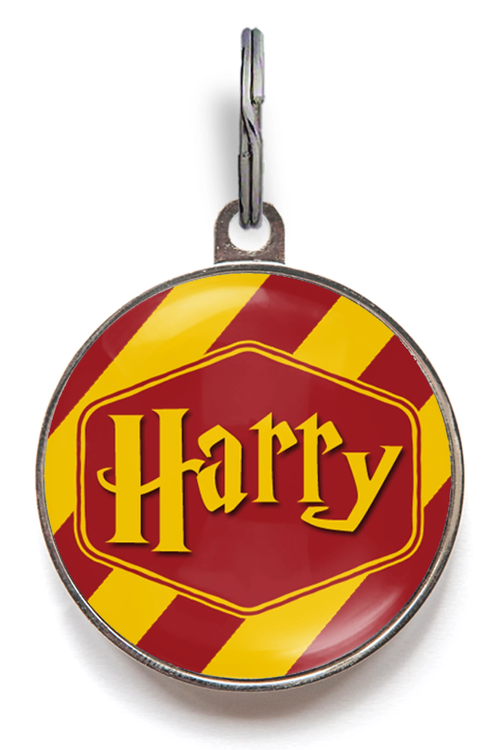 Gryffindor Pet Name Tag