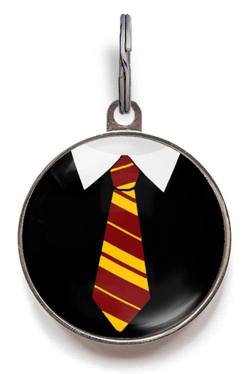 Dogwarts Uniform Dog ID Tag