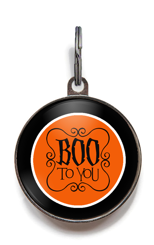 Halloween Pet Tags - Boo To You