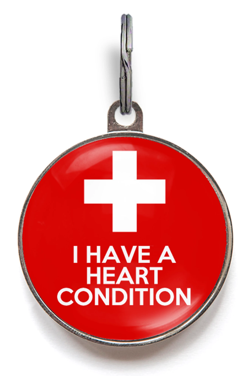 I Have A Heart Condition ID Tag
