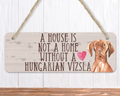 Hungarian Vizsla Dog Sign