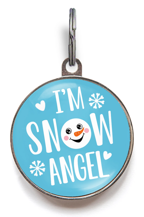 I'm Snow Angel Dog Tag