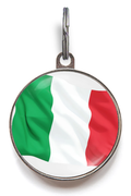 Italy Flag Pet ID Tag