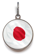 Flag of Japan ID Tag