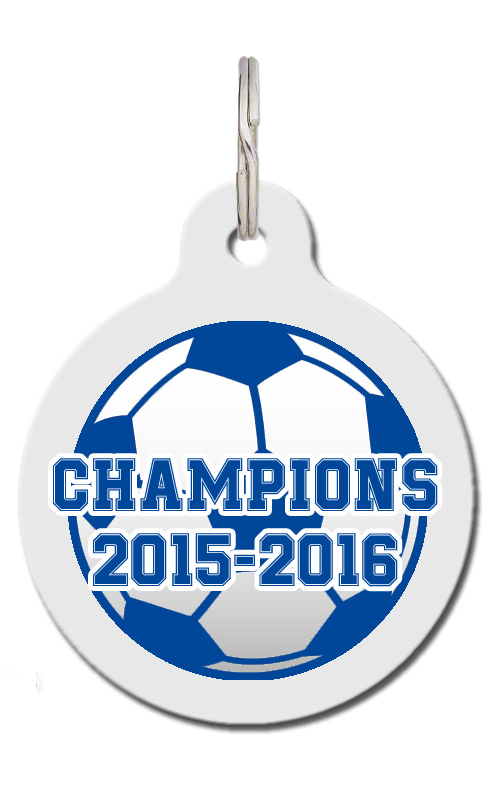 Leicester Champions Football Dog Tag