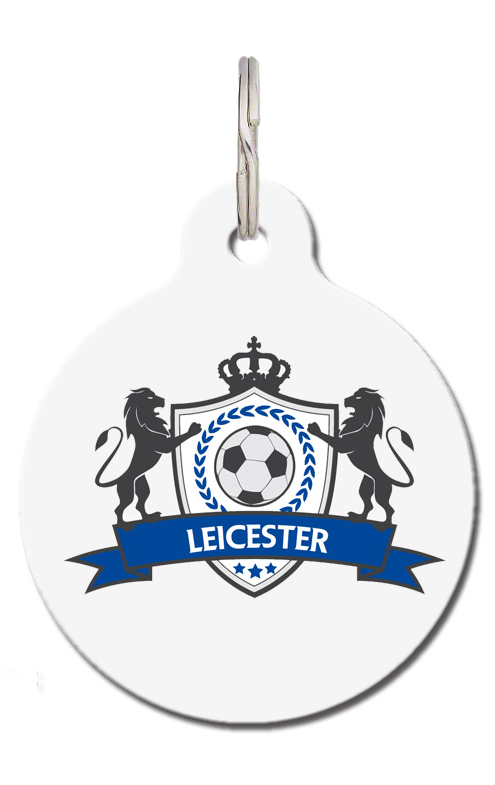 Leicester Football Pet Tag