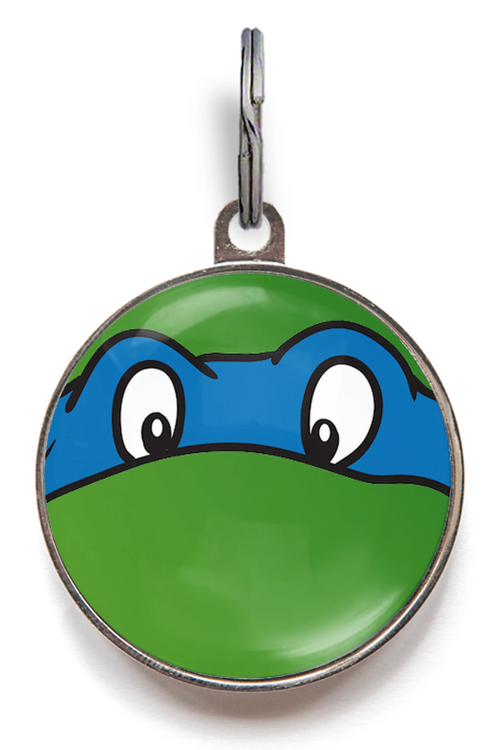 Blue Ninja Turtle Dog ID Tag