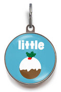 Little Pudding Christmas Dog Tags