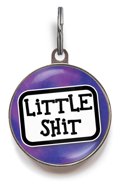 Little Sh*t Funny Pet ID Tag