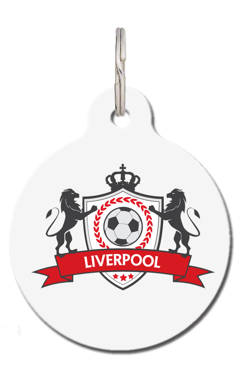 LFC Liverpool Football Pet Tag