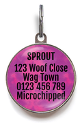 Mum's Ugly Crying Pet Tag