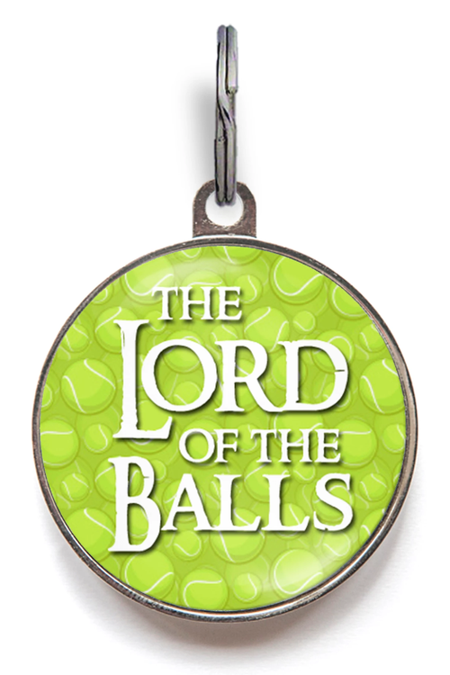 Lord Of The Balls Dog Tag