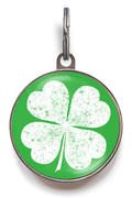 Lucky Clover Dog ID Tag