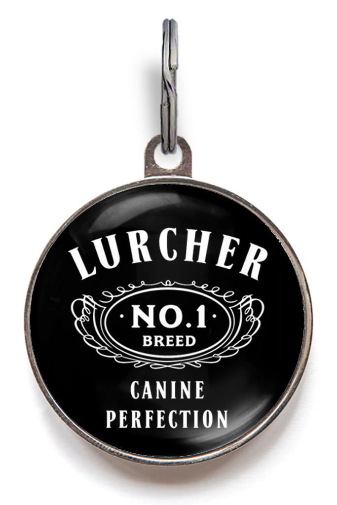 Lurcher Dog Tag