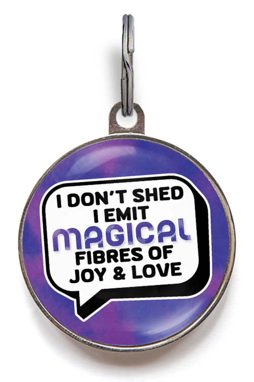 I Don't Shed Pet ID Tag