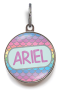 Mermaid Dog Name Tag