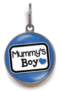 Mummy's Boy Dog ID Tag