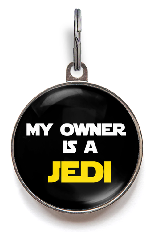 My Owner Is A Jedi Pet Tag