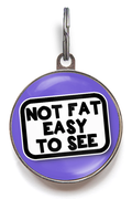 Not Fat, Easy To See Pet Tag