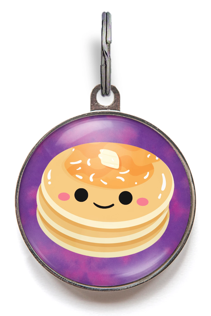 Pancake Dog Tag
