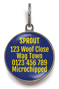 Squirrel Patrol Dog ID Tag
