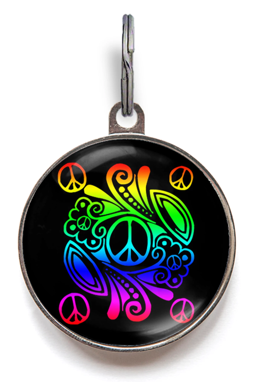 Peace Pet Tag