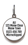 Christmas Cat Tag - Meowy Christmas