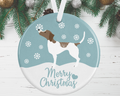 Pointer Christmas Decoration - Blue