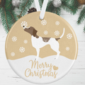 Pointer Christmas Decoration - Gold
