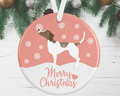 Pointer Christmas Decoration - Pink