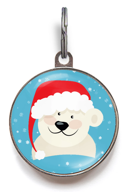 Polar Bear Pet Tag