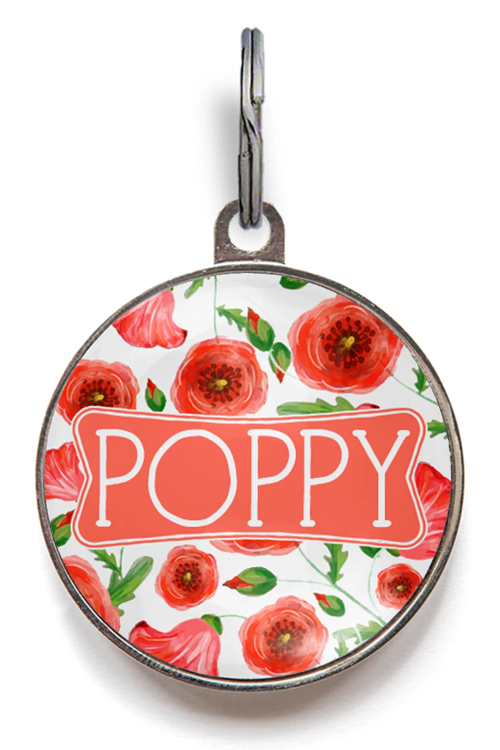 Poppy Dog Tag