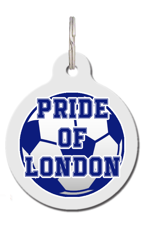Pride Of London Chelsea Football Dog ID Tag