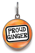 Proud Ginger Pet ID Tag