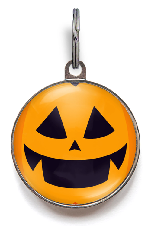 Pumpkin Pet Tag